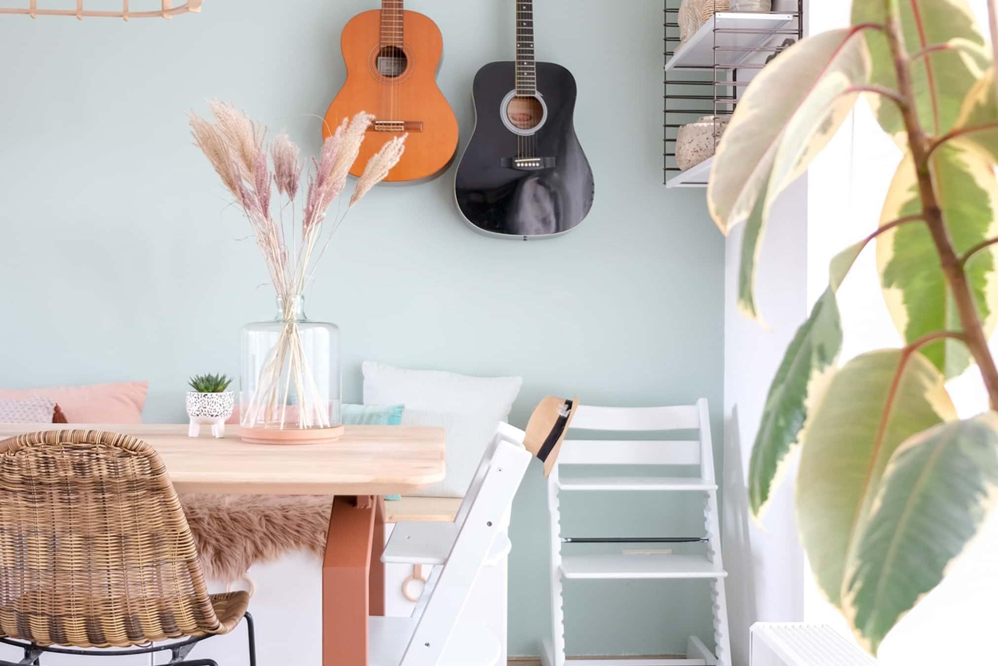 Inspiratie en ideeen voor decoratie op de eettafel