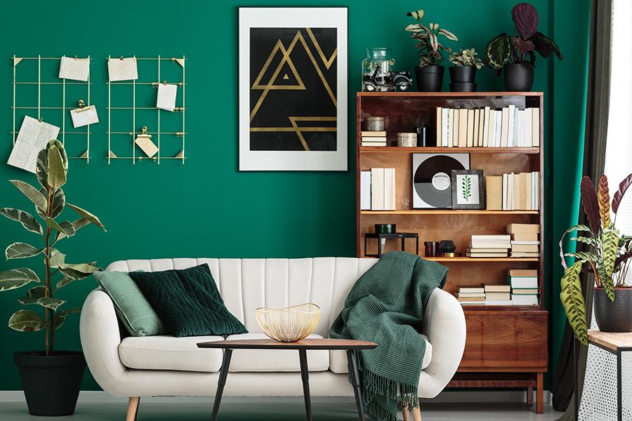 welke kleur past bij groen